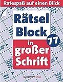 Rätselblock in großer Schrift 77 - Eberhard Krüger