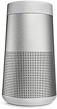 Bose SoundLink Revolve, Portable Bluetooth Speaker, water-resistant design with Spacious 360° Sound - Luxe Sil