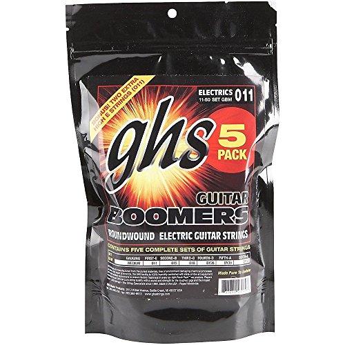 ghs-boomers-gbm-5-corde-per-chitarra-misura-medium-da-011-a-050-5-pezzi