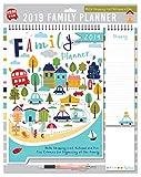 Tallon 2019 Family Organizer Kalender, Notizblock, Stift - Bold Town Scene