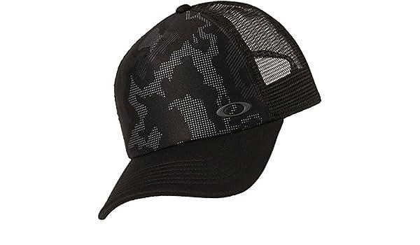 bdf329176c37f7 Oakley Men's Mesh Sublimated Trucker Update Baseball Cap, Blackout, One  Size: Amazon.co.uk: Clothing