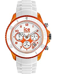 Ice-Watch - ICE Chrono party Sex on the beaCh - Weiße Herrenuhr mit Silikonarmband - 013719 (Extra Large)