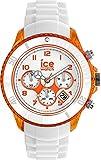 Ice-Watch - ICE Chrono party Sex on the beaCh - Weiße Herrenuhr mit Silikonarmband - 013719 (Extra Large)