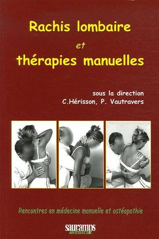 Rachis lombaire et thérapies manuelles