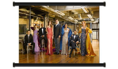 Castle TV Show Season 3 Fabric Wall Scroll Poster (32