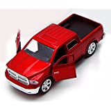 Dodge Ram 1500 Pickup Truck, Red Jada Toys Just Trucks 97015 1/32 Scale Diecast Model Toy Car