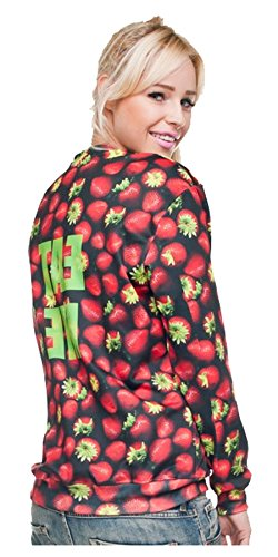 Kukubird New Summer Range Various Emoji Animal Print Pattern Jumpers Eat Me