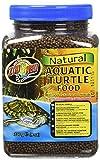 Zoo Med Natural Aquatic Turtle Food 226g, Aufzuchtfutter für Wasserschildkröten
