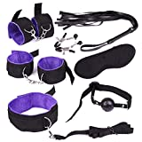 Adjustable Costume Set For Women and Man,Purple,7 Pieces