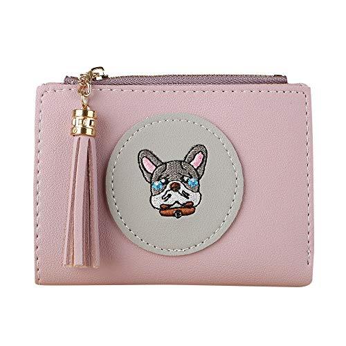 Quaan Mode Exquisit Frau Einfach Retro Haspe Kurz Brieftasche Inhaber Brieftasche Münze Geldbörse...