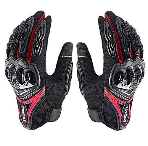 Mdsfe Guanti da moto da uomo guanti da moto impermeabili touch screen antivento guanti da moto da corsa invernali - A3 X XXL