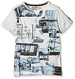 Garcia Kids Jungen T-Shirt O63401, mit Print, Gr. 152 (Herstellergröße: 152/158), Weiß (Broken White 304)