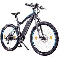 """NCM Moscow Plus Bicicleta eléctrica de montaña, 250W, Batería 48V 14Ah • 672Wh, 27,5"""" Negro"""