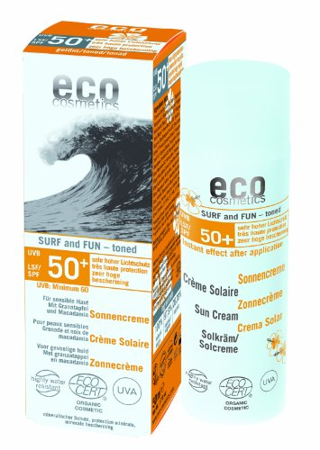 eco cosmetics: Surf $ Fun Sonnencreme LSF 50+ getönt (50 ml)
