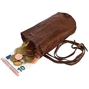 51PHUkBlWWL. SS300  - Gusti Monedero para Mujer de Cuero Leder Arlo Cartera Bolso de Tabaco de Liar Llavero Suelto Cuero de Cabra A76b