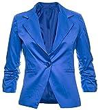 GIOVANI & RICCHI - Giacca da abito - donna, Blu, XS/S