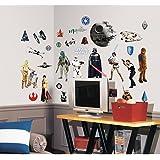 Joy Toy Stickers repositionnables Star Wars Classique Multicolore