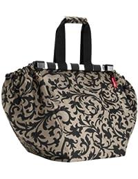 Reisenthel Easyshoppingbag Baroque Taupe - Sac Shopping - Sac Fourre-Tout - Sac Pour Faire Les Courses - Taupe Baroque Uj7027