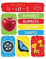 My First 4 In 1 Alphabet Numbers Colours Shapes Padded Boar
