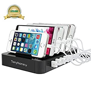 tonyhoney multi ladestation usb ladestation iphone dockingstation f r apple iphone ipad samsung. Black Bedroom Furniture Sets. Home Design Ideas