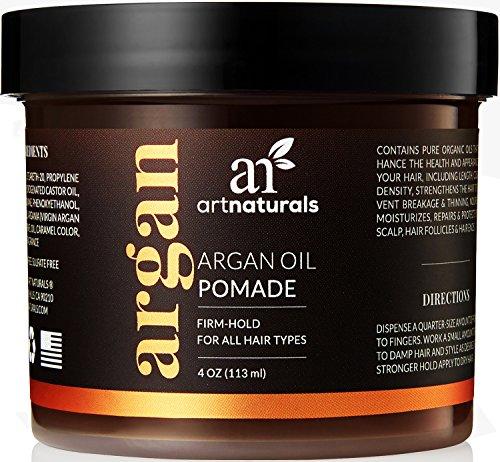 ArtNaturals Haarwachs Styling-Pomade mit Arganöl - (4 Oz / 113ml) - Halt, Glanz, Form, Stil und Pflege für alle Haartypen - Nicht fettend 4 Oz Dosen