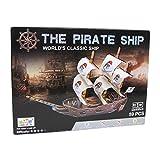 Legler 2019695 - Puzzle 3d - Bateau De Pirates - Monde Marin