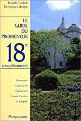 Guide du promeneur, 18e arrondissement