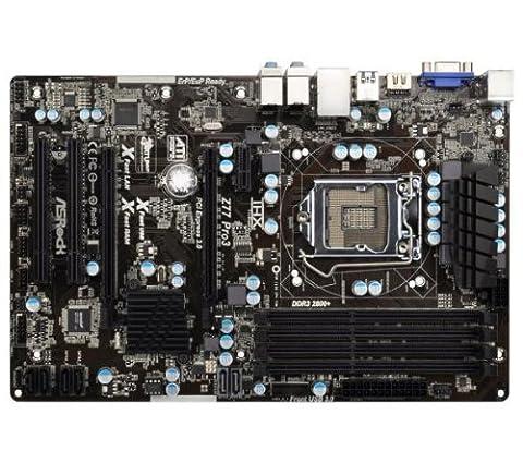 Z77 Pro3 - Socket 1155 - Chipset Z77 - ATX + HyperX blu Black Series - Memory - 16 GB : 2 x 8 GB DDR3-1600 PC3-12800 (KHX16C10B1BK2/16X)