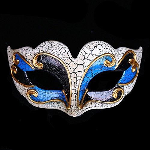 chenyu Römische griechische venezianische Maske, Maskenball, Halloween, Kostüm, -