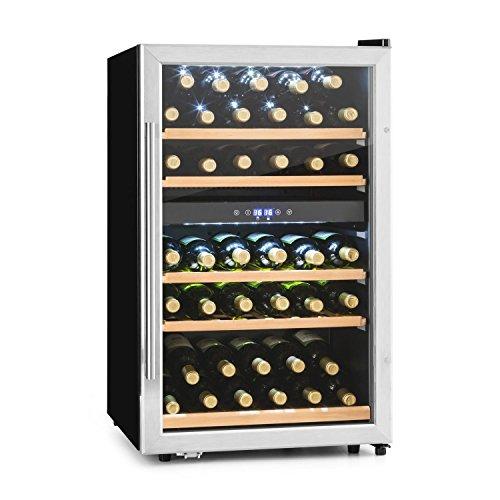 Klarstein Vinamour 40D (capacidad de 135 litros o 41 botellas)