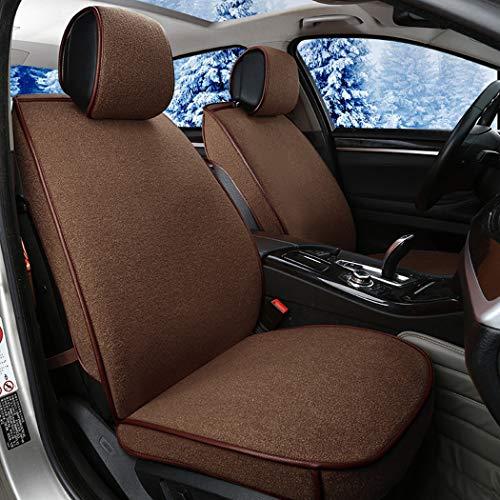 Plüsch Autositzbezug Comfort Warm Cushion Winter Spezial Sitzkissen für Audi A3A4L Toyota Camry Sitzbezug,B