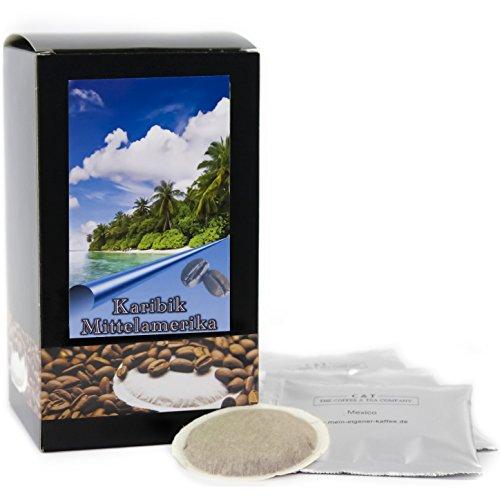 C&T Premium Kaffeepads Länderkaffee Mittelamerika (Mexiko) 75 Stück | Pads für Senseo Kaffeemaschine | Ausgewogene Säure | Würziges Aroma | Schonend geröstet in eigener Privatrösterei