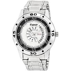 Espoir Analogue Silver Dial Men's Watch - Jason0507