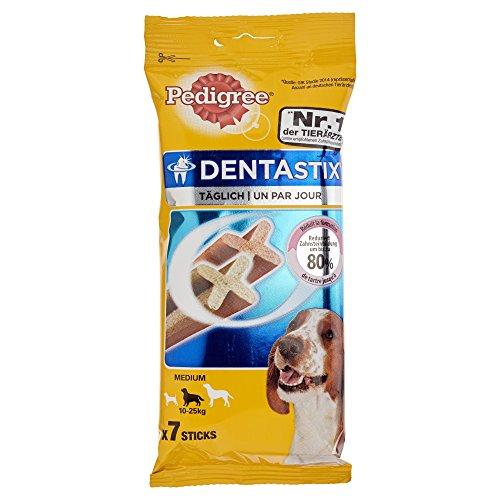 Pedigree DentaStix Hundesnack medium, 7 Sticks, 180 g