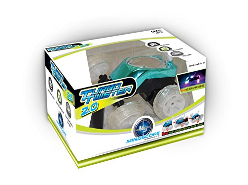 Preisvergleich Produktbild Mindscope Turbo Twister PULSE BLUE Radio Control RC Stunt Action Vehicle 49 MHz