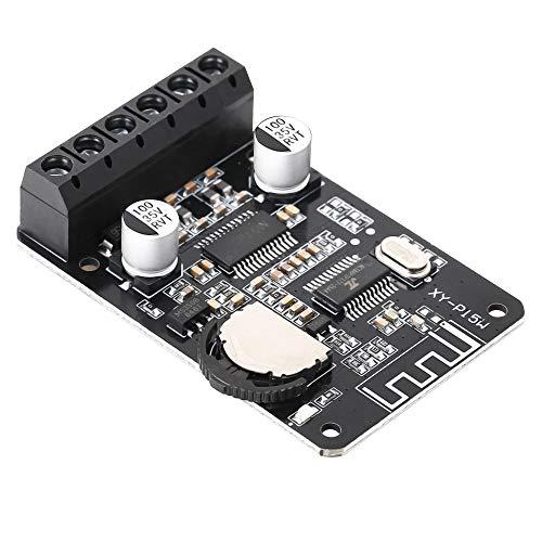 PEMENOL Bluetooth Leistung Verstärkerplatine Stereo, 10W 15W 20W Wireless Digital Audio-Verstärkerplatine, 12V 24V Doppelkanal Hochleistungs-Bluetooth-Verstärker-Empfangsmodul 12 Digital-audio