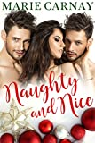 Naughty and Nice: A Menage Holiday Romance (Double the Fun Book 4)