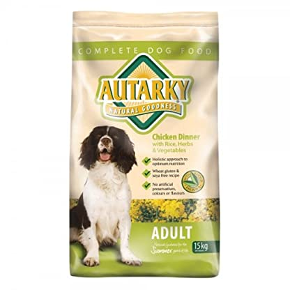 Autarky Dry Adult Chicken Dog Food, 15 Kg 1