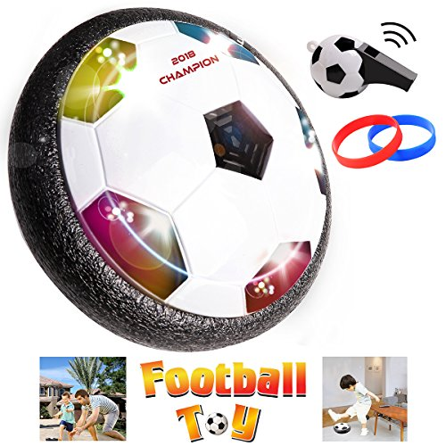 ll Spiel Kinder Spielzeug die erstaunliche Hover Ball Kinder Sport Spielzeug Training Fußball für Indoor oder Outdoor mit Eltern Spiel Bonus Pfeife und Armband (Fußball Spielzeug)