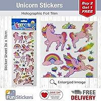 Fun Stickers Unicorn 979