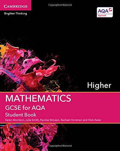 GCSE Mathematics for AQA Higher Student Book (GCSE Mathematics AQA) por Karen Morrison