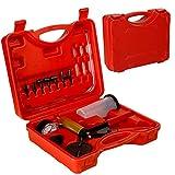 FreeTec Set di 5 chiavi per lo spurgo dei freni di autoveicoli 7 mm-11 mm