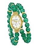 Damen 2tlg. Uhren-Set mit Aventurin by Rivage