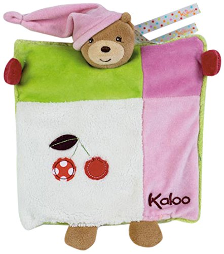 Kaloo K963280 - Colors Doudou Marionetta Orsetto, Multicolore, 20 cm