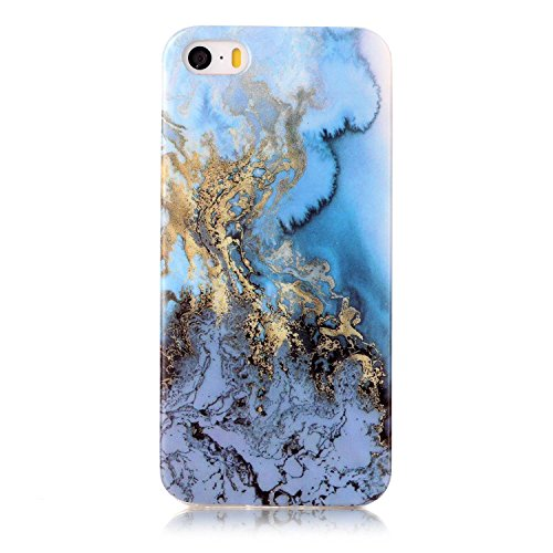Cover iPhone 5 5s SE, Sportfun morbido protettiva TPU Custodia Case in silicone per iPhone 5 5s SE (06) 06
