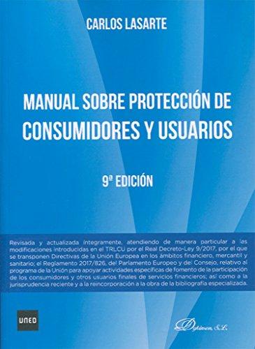 Manual sobre protección de consumidores y usuarios (9ª ed. - 2017)