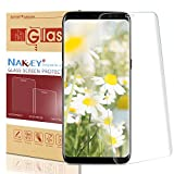 Nakeey Galaxy S8 Plus Pellicola Protettiva ,Alta Definizione Senza Bolla Vetro Temperato,Alta Definizione Pellicola Protettiva Vetro Temperato per Samsung Galaxy S8 Plus-Trasparente immagine