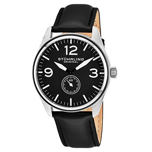 Stührling Original 931.03 - Reloj analógico para Hombre, Correa de Cuero