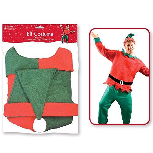 Robe Xmas Kostüm Kostüm Weihnachten Outfit Sets ()