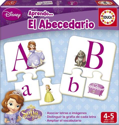 Educa Borrás Princesa Sofía - Aprendo el abecedario, juego educativo 15948